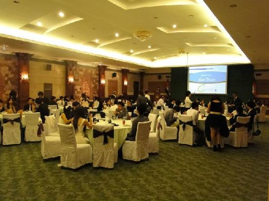 Apsara Angkor Resort & Conference: The Gala Dinner