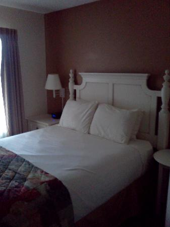 Weathervane Terrace Inn and Suites : Bedromm View