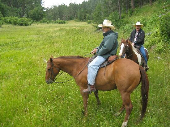 Diamond L Guest Ranch: all day ride - spectacular views