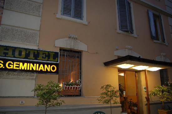 Hotel San Geminiano: struttura fatiscente