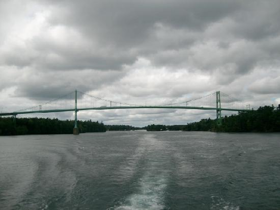 Gananoque, Kanada: border bridge