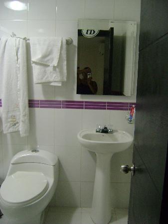 Hotel Balmoral: baño