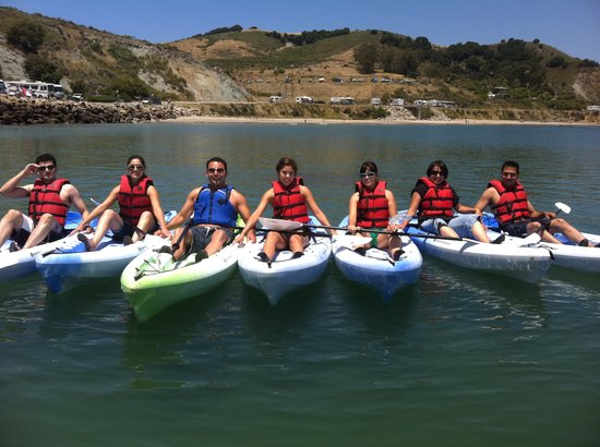 Avila Beach Paddlesports: Large groups and beginners welcome!