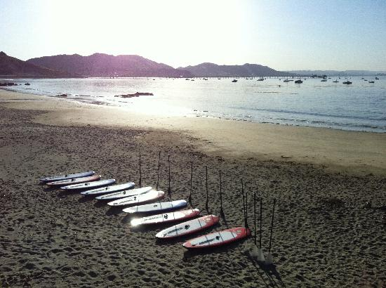 Avila Beach Paddlesports : Calm conditions are perfect for stand up paddleboarding (SUP)!