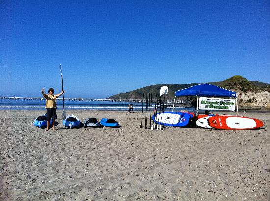 Avila Beach Paddlesports: Look for our 2nd rental location on the main beach in Avila May-September!
