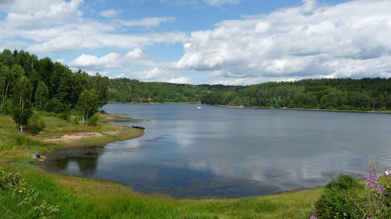 Vlasina Lake: One of the views of the lake