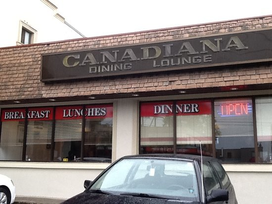 Canadiana Restaurant: typical old diner