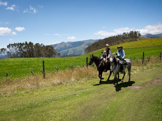 Hacienda Zuleta: Riding in the highlands