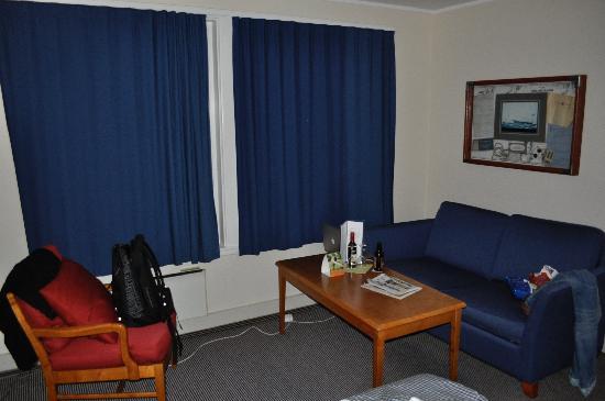 Clarion Hotel Tyholmen: Sitting area