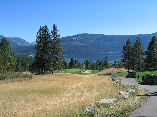 Quaaout Lodge & Spa at Talking Rock Golf Resort: Talking Rock golf course 15th Hole
