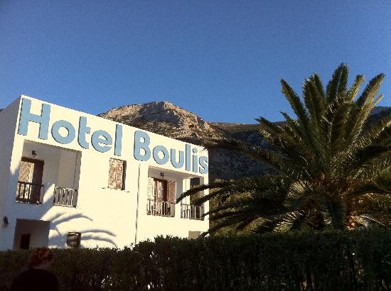 Hotel Boulis from the beach