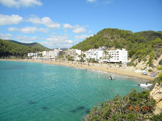Veraclub Ibiza: vista lato sin spiaggia
