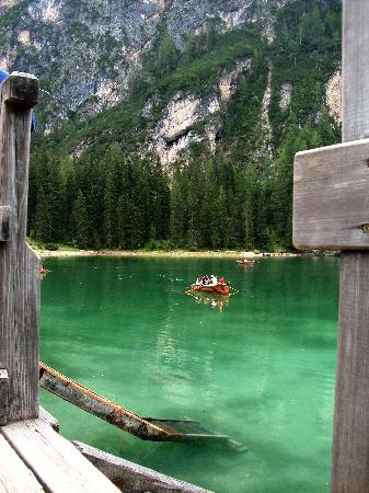 Brunico, İtalya: lago di braies