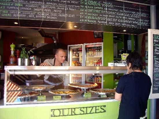Slice Pizzeria: Taking an Order