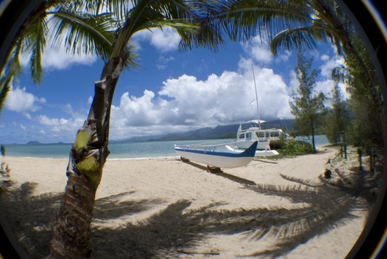 Kaneohe Bay Private Charters: Shhh!!  It's a secret.