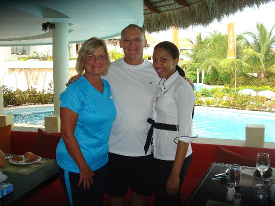 The Reserve at Paradisus Palma Real: Great service with Dianna