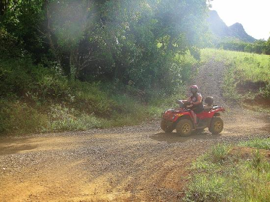 Kipu Ranch Adventures: Very dusty at some points