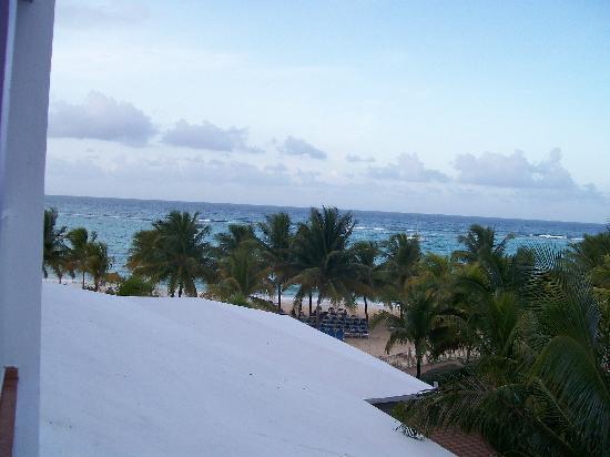 คลับโฮเต็ล ริอูออคโคริออส: view from our room