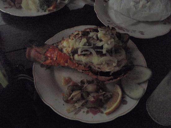 Melia Península Varadero: Lobster lunch from the Island