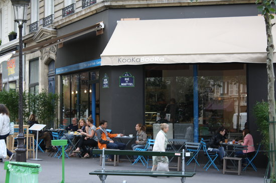 KBCaféshop : great location