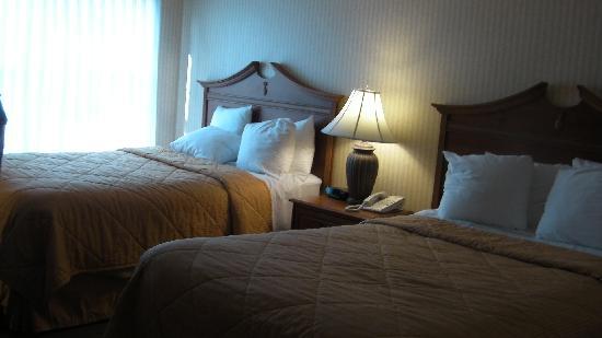 Comfort Inn Middletown: 2 Double Beds
