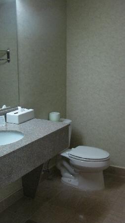 Comfort Inn Middletown: Bathroom