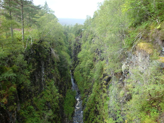 Ullapool, UK: gorge