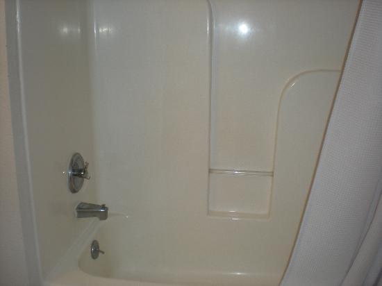 Valley Creek Lodge: no ADA compliant shower bar