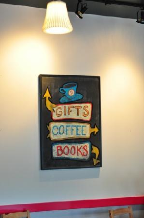 Cafe Guido: Books, coffee & gifts!