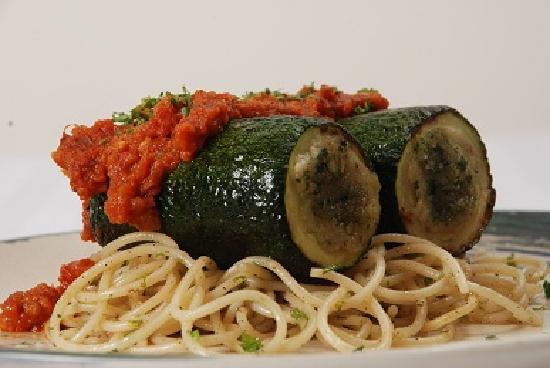 Bohemian: The stuffed zuccini