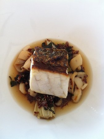 Esposito at Toofey's: Barramundi