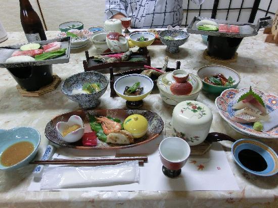 Minamioguni-machi, Japan: 夕食