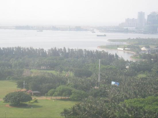 Baohua Harbour View Hotel: The park, taken from our room