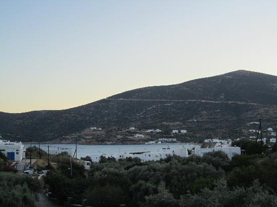 Alexandros Hotel: vista dal terrazzo della camera