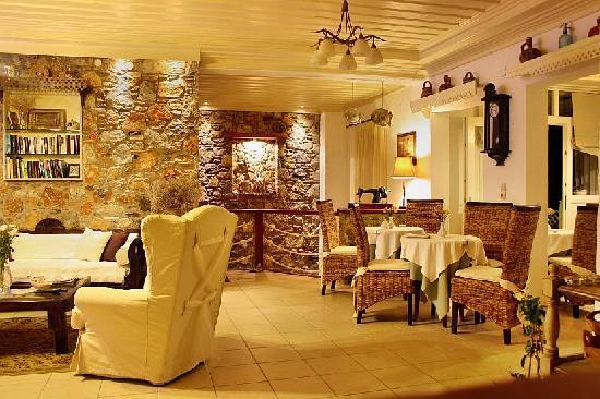 Tholaria Boutique Hotel Astypalaia: Inside Reception