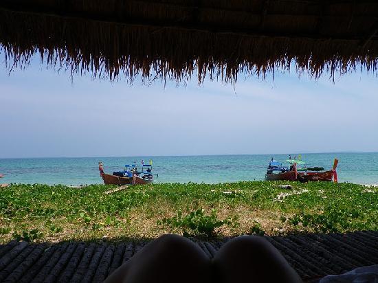 Laoliang Island Resort: Aussicht aus der Strandbar