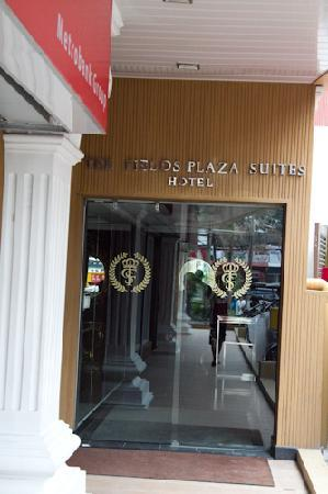 The Fields Plaza Suites : Side entrance