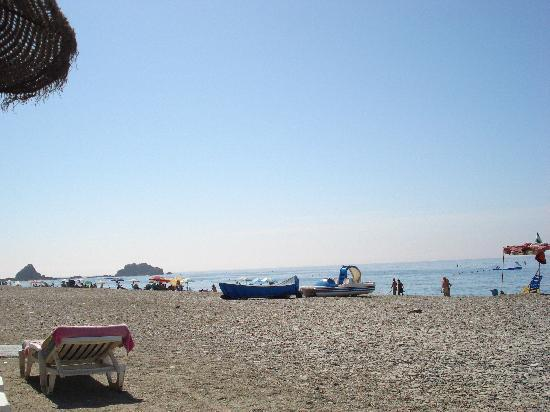 Hotel Victoria Playa: playa tanquila