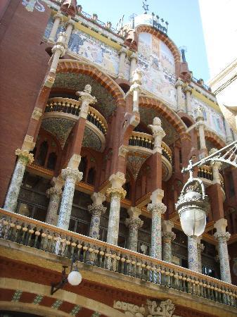 Palais de la Musique Catalane (Palau de la Musica Catalana) : caratteristico