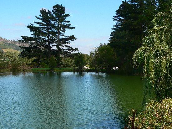 Auberge La Dauphine: Auberge view