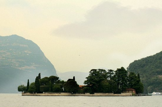 Iseo Lago Hotel : The boat cruise before the reception
