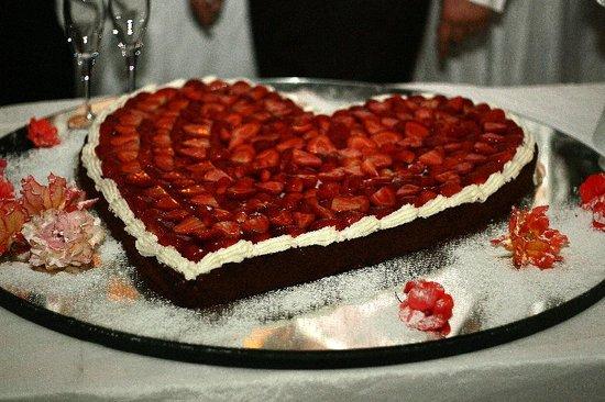 Iseo Lago Hotel: The wedding cake