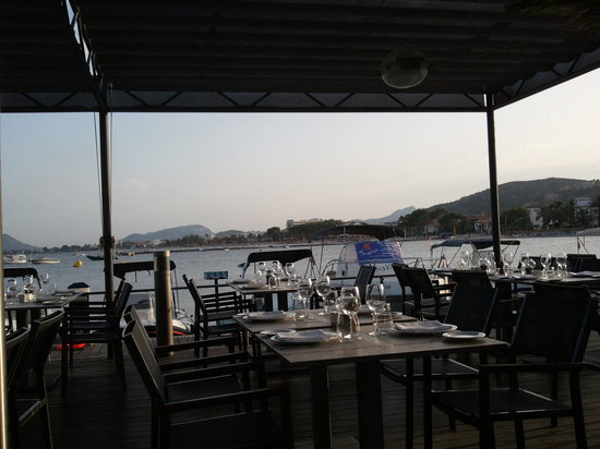 view from stay picture of stay restaurant port de pollenca tripadvisor