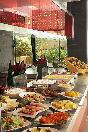 Novotel Athenes: Breakfast buffet