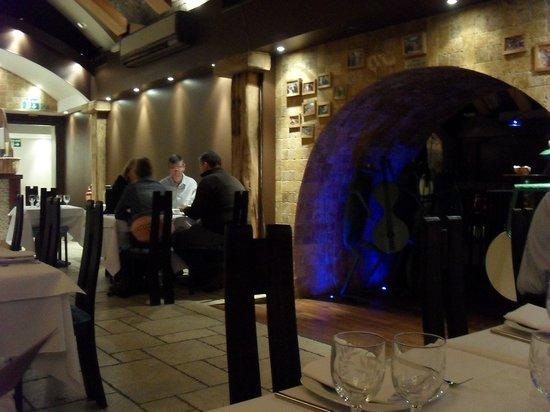 Ev Restaurant: Inside the restaurant