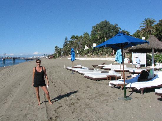 Marbella Club Hotel: playa del hotel