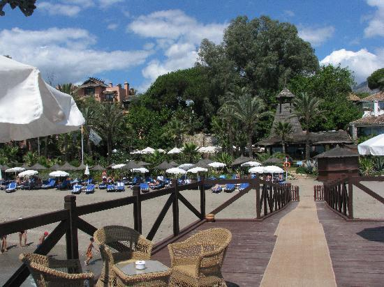 Marbella Club Hotel : el muelle, la playa, el spa y el restaurante