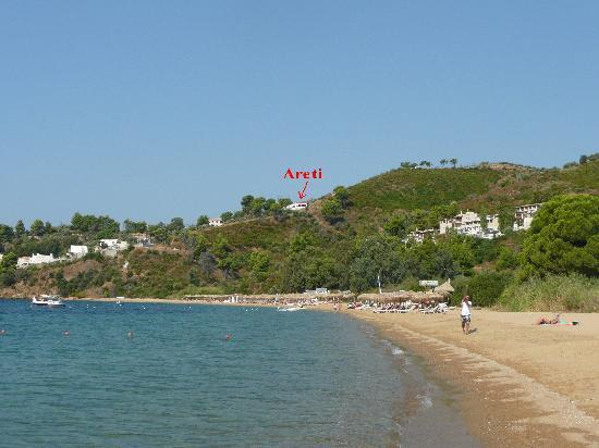 Areti Studios and Appartments: Areti from Platanias beach