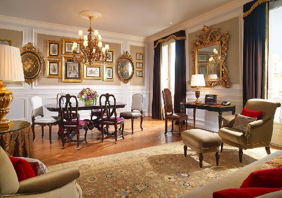 The St. Regis Florence: Presidential Suite