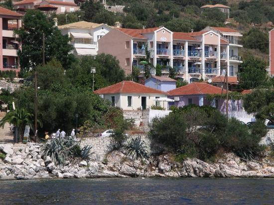 Olive Bay Hotel: The Apartments from the sea
